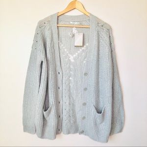 NWT Urban Outfitters Kimchi Blue Knit Cardigan